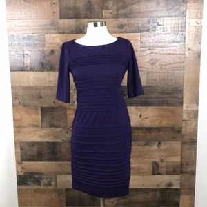 Maggy London Purple  Bodycon Dress Size 4